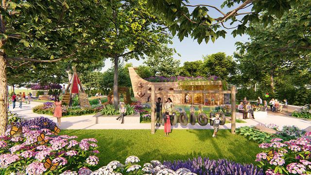 Chung-cư-Park-City-Hà-Nội-dành-diện-tích-lớn-cho-cây-xanh-và-sân-chơi-cho-trẻ.